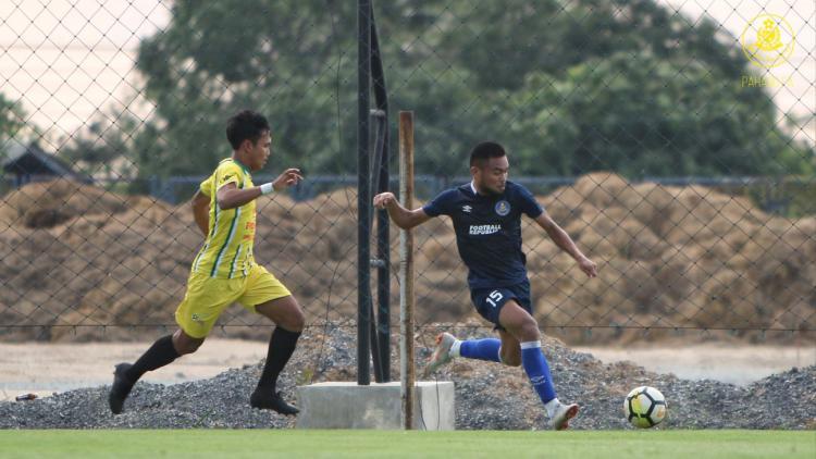 Saddil Ramdani pemain Pahang FA. Copyright: Twitter@MediaPhgFA