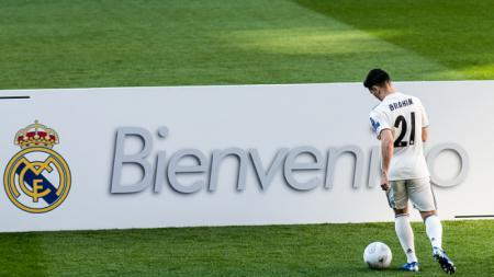 Ibrahim Diaz, pemain baru Real Madrid. - INDOSPORT