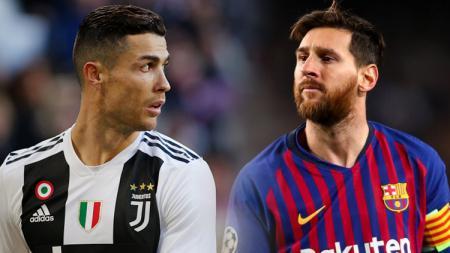 Cristiano Ronaldo vs Lionel Messi - INDOSPORT