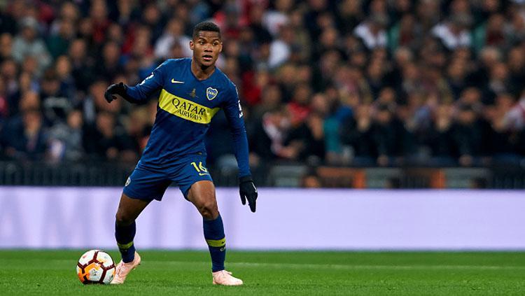 Wilmar Barrios, pemain sepak bola milik Boca Juniors. Copyright: Getty Images