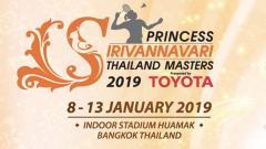 Indosport - Thailand Master 2019.