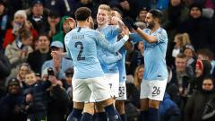 Indosport - Selebrasi gol milik Kevin Debruyne