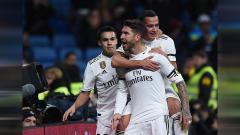 Indosport - Gol Sergio Ramos bawa Madrid unggul 1-0 atas Leganes