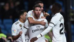 Indosport - Sergio Ramos bicara soal rencana masa depannya bersama Real Madrid.
