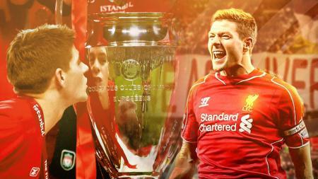 Fans Liverpool meminta petinggi klub untuk mengontrak sang legenda, Steven Gerrard, agar mendapat medali Liga Inggris yang belum diraihnya - INDOSPORT
