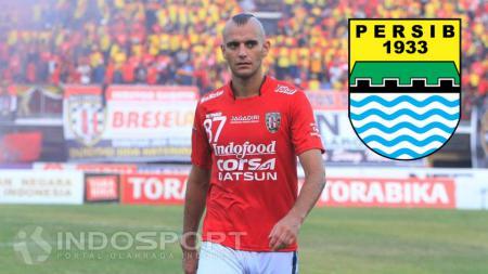 Kiko Insa - Persib Bandung. - INDOSPORT