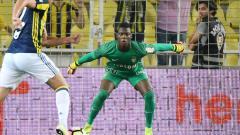 Indosport - Kiper AS Monaco Loic Badiashile.