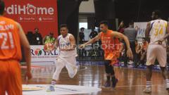 Indosport - Laga IBL 2018/19 NSH Jakarta Bogor Siliwangi.