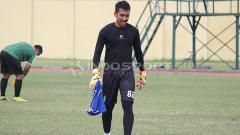 Indosport - Imam Arif Fadillah ikut trial di Persebaya Surabaya. Kamis (10/1/19)