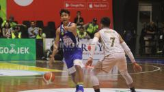 Indosport - IBL 2018/19: Satria Muda vs Bima Perkasa di musim reguler.