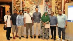 Indosport - Foto perpisahan Hansamu Yama bersama Barito Putera.