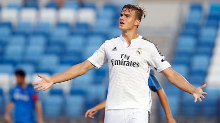 Eero Markkanen saat berseragam Real Madrid B. - INDOSPORT