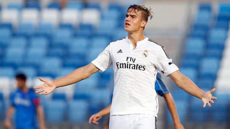 Eero Markkanen saat berseragam Real Madrid Copyright: Istimewa