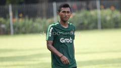 Indosport - Pemain asal Persija Jakarta di Timnas Indonesia U-22, Anan Lestaluhu.