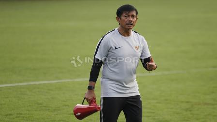 Pelatih Timnas Indonesia U-22, Indra Sjafri.