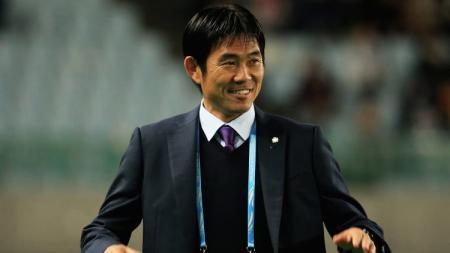 Hajime Moriyasu pelatih Timnas Jepang - INDOSPORT
