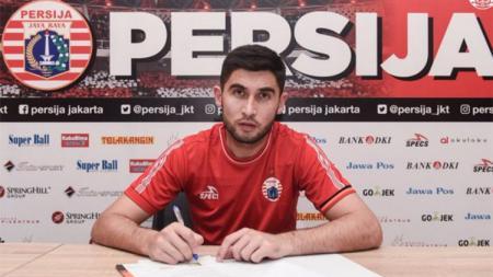 Jakhongir Abdumuminov pemain Persija Jakarta. - INDOSPORT