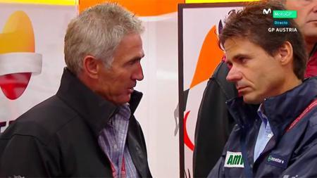 Mick Doohan dan Alex Criville, dua legenada tim Repsol Honda di ajang MotoGP - INDOSPORT