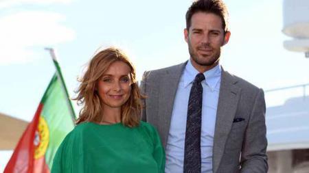 Jamie Redknapp dan Louise ketika masih bersama. - INDOSPORT
