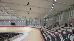 Indosport - Jakarta International Velodrome (JIV) yang berlokasi di Rawamangun, Jakarta Timur disebut sebagai velodrome terbaik se-Asia Tenggara.