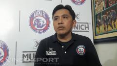 Indosport - Sudarmaji (Media Officer Arema FC)
