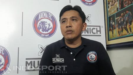 Sudarmaji (Media Officer Arema FC) - INDOSPORT