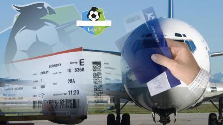 Harga tiket pesawat naik, akankah Liga Indonesia kembali dua wilayah? - INDOSPORT