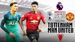 Indosport - Tottenham vs Man United (Prediksi)