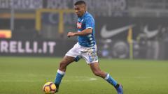 Indosport - Allan, gelandang tengah Napoli.