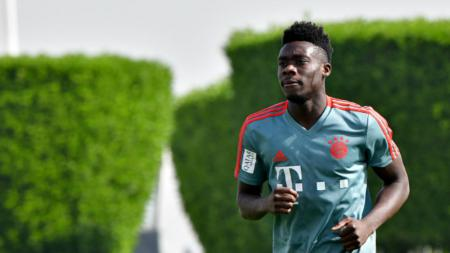 Alphonso Davies, rekrutan anyar Bayern Munchen. - INDOSPORT