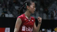 Indosport - Fitriani satu-satunya wakil Indonesia d final Thailand Master 2019.