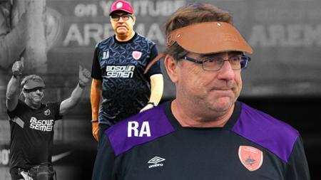Mantan pelatih PSM Makassar, Robert Rene Alberts. - INDOSPORT