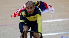 Indosport - Pebalap sepeda asal Malaysia Azizulhasni Awang menjadi sprinter tercepat di Asia