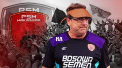 Indosport - Robert Rene Albert tinggalkan PSM Makassar.