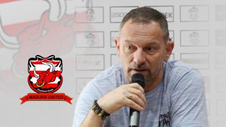 Dejan Antonic resmi jadi pelatih Madura United - INDOSPORT