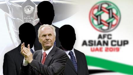 Empat pelatih jebolan piala dunia yang gagal total di Piala Asia 2019, diantaranya Sven Goran Eriksson - INDOSPORT
