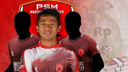 Tiga pemain anyar PSM Makassar yang memiliki harga paling mahal, diantaranya Bayu Gatra - INDOSPORT