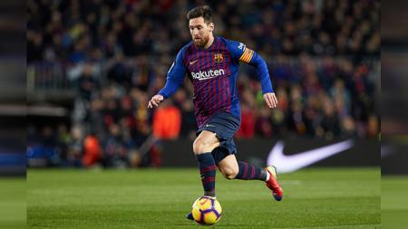 Megabintang Barcelona, Lionel Messi. - INDOSPORT