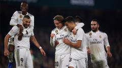 Indosport - Real Betis vs Real Madrid