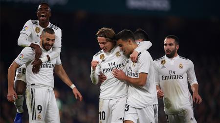 Real Betis vs Real Madrid - INDOSPORT