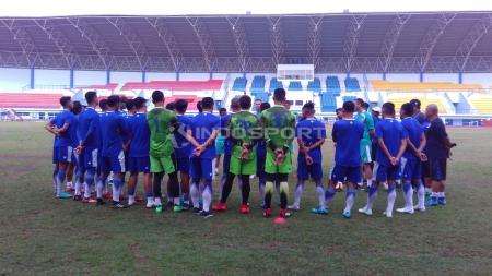 Latihan perdana Persib Bandung. - INDOSPORT