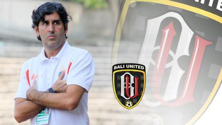 Stefano Cugurra Teco Pelatih Bali United. - INDOSPORT