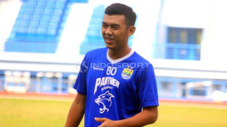 Gelandang Persib Bandung, Abdul Aziz. - INDOSPORT