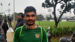 Indosport - Pemain Timnas Indonesia U-22, Rifal Lastori.