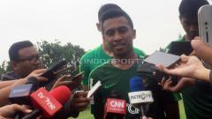 Indosport - Pelatih Timnas Indonesia U-22, Syafril Lestaluhu.