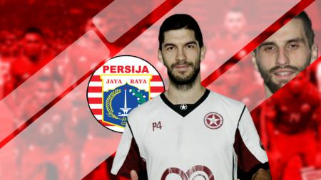 Klub Liga 1 Persija Jakarta belakangan dikaitkan dengan sosok bek berkebangsaan Macedonia, Jasmin Mecinovic - INDOSPORT