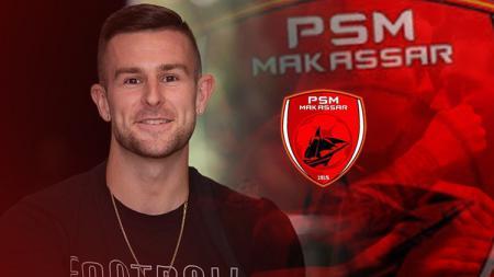 Keuntungan PSM Makassar resmi dapatkan Aaron Evans - INDOSPORT