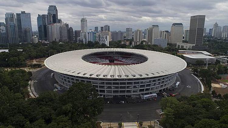 Suasana Stadion Gelora Bung Karno Copyright: Aditia Noviansyah/kumparan