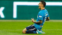 Indosport - Leandro Paredes, pemain Zenit St. Peterburg.