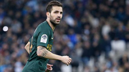 Cesc Fabregas, playmaker AS Monaco. - INDOSPORT